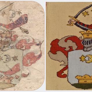 Karats nemesi címer 1655