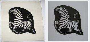 Vasarely - Zebra